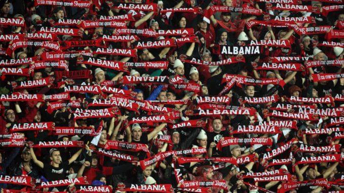 Albania's history European football