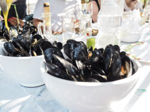 mussels Albania